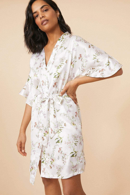 NEUF RRP £ 38 Ex Debenhams Mantaray Floral robe sans manches