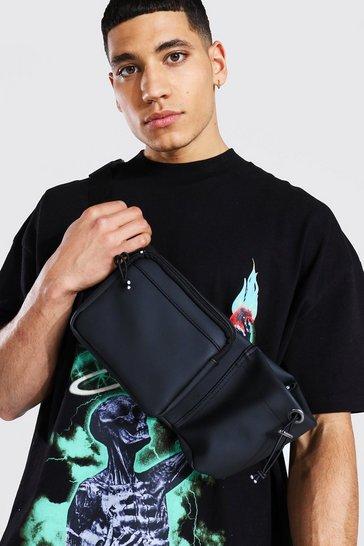 Black Can Pocket Cross Body