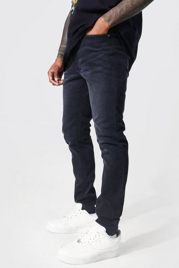 Charcoal grey Skinny Fit Jean Contains Organic Cotton