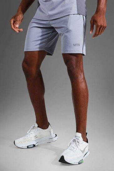 Grey Man Active Colour Block Short