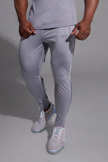 Grey Man Active Side Stripe Jogger