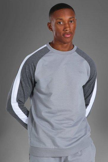 Grey Man Active Side Stripe Sweater