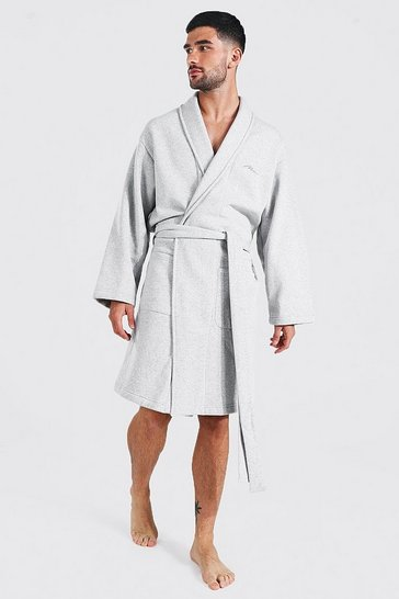 Grey Man Signature heavy jersey Dressing Gown