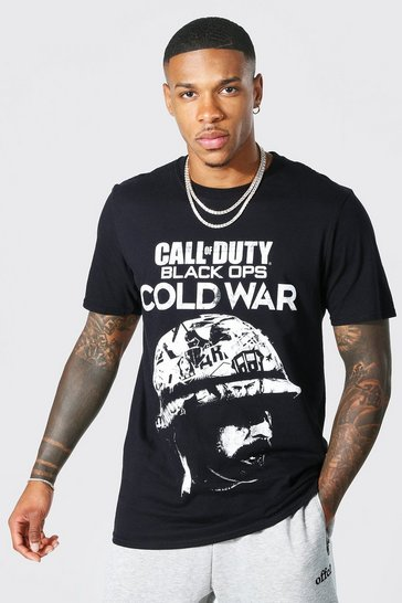 Call Of Duty Black Ops License T-shirt