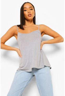 Grey marl Basic Swing Cami