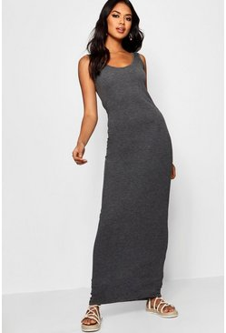 Robe longue, Anthracite gris