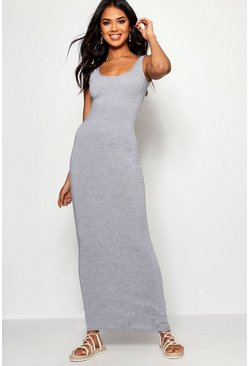 Grey marl grey Maxi Dress