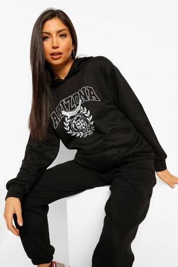 Black Maternity Arizona Oversized Hoody