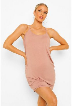 Maternity Basic Jersey Nightie, Rose