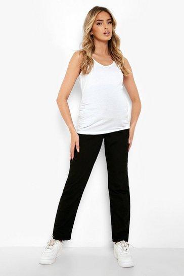 Maternity Black Mom Jeans