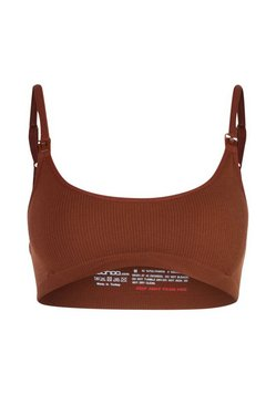 Chestnut brown Maternity Seamless Scoop Nursing Bra