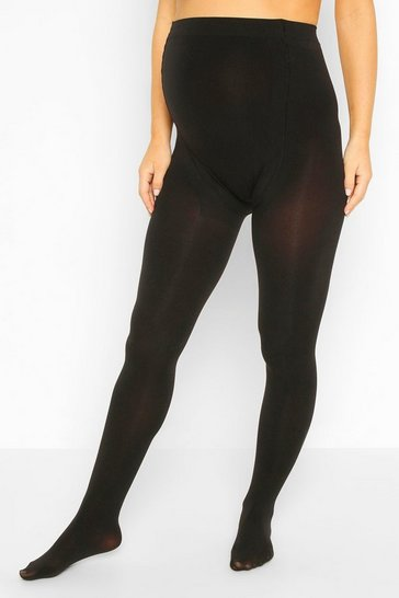 Black Maternity 3 Pack 100 Denier Tights
