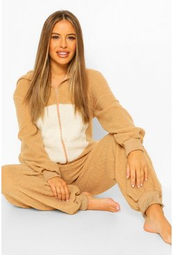 Camel Maternity Momma Bear Teddy Onesie