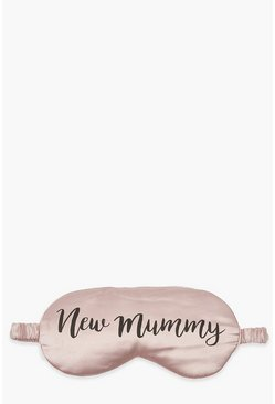 Pale pink 'New Mummy' Eyemask