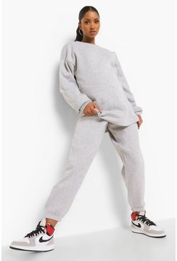 Grey marl grey Grey Maternity Over The Bump Jogger