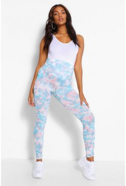 Multi Maternity Tie Dye Legging