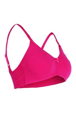 Hot pink Maternity Tshirt Nursing Bra