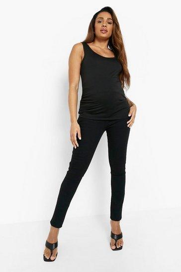 Black Maternity Skinny Jeans