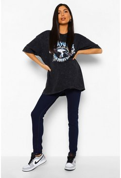 Indigo blue Maternity Basic Jegging
