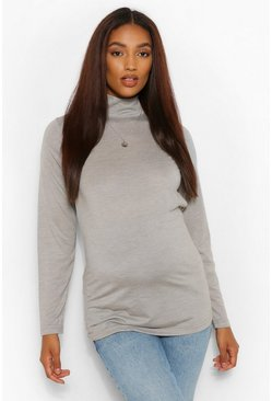 Multi Maternity Turtleneck 2 Pack Top