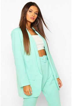 Mint green Tailored Blazer