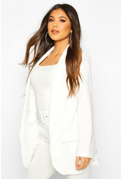 White Tailored Blazer