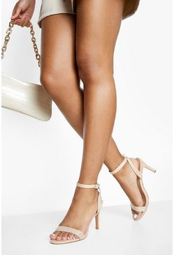 Blush pink Low Heel Basic 2 Parts