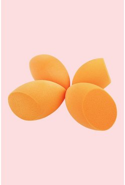 Oranje orange Real Techniques Complexion Sponges (4 Stuks)