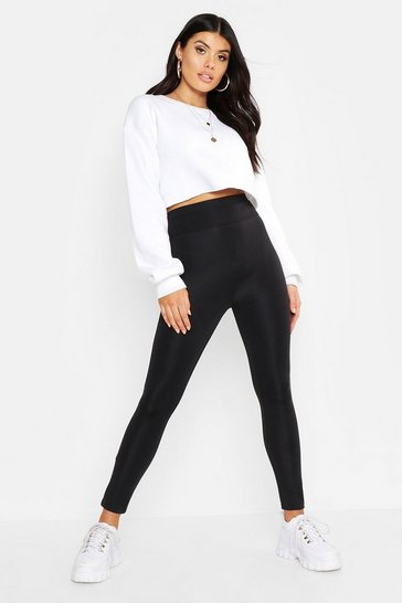 Black Waist Shaping Leggings