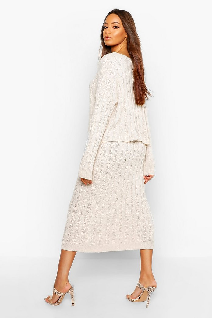 Get Long Sweater Skirt Images