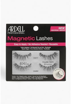 Ресницы Ardell Magnetic Lashes Double Demi Wispies, Black Чёрный
