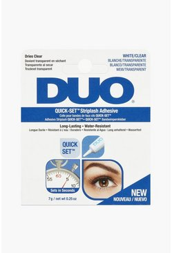 White Duo Striplash Adhesive Clear 7S