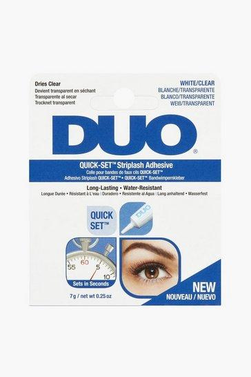 White Duo Striplash Adhesive Clear 7S