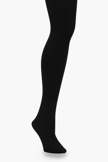 Black 300 Denier Thermal Tights