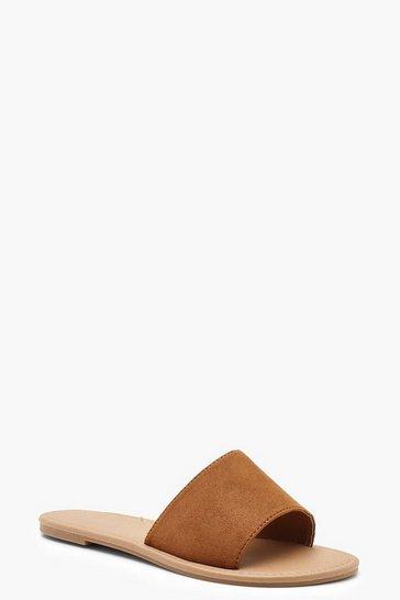 Tan brown Basic Sliders