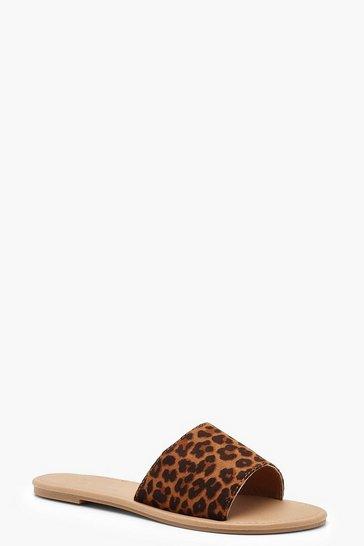 Basic Leopard Sliders
