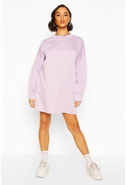 Lilac purple The Perfect Oversized Sweat Dress