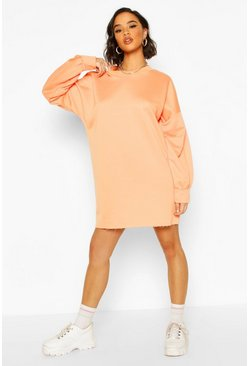 Orange The Perfect Oversized Sweat Dress