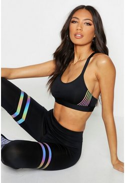 Fit Iridescent Stripe Sports Set