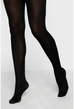 Black 60 Denier 2 Pack Microfibre Tights