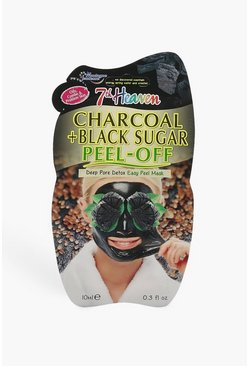 Charcoal And Black Clay Peel Off Face Mask