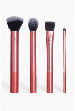 Rose gold metallic Real Techniques Flawless Base Brush Set