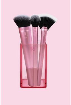 Real Techniques Sculpting Brush Set, Pink rosa