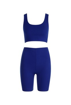 Cobalt Cycling Short Co-Ord Set