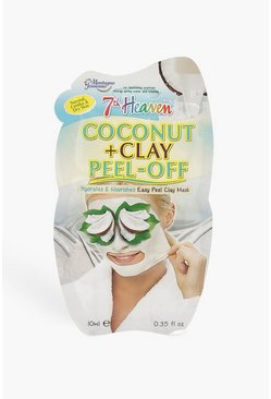 White Coconut & Clay Peel Off Face Mask