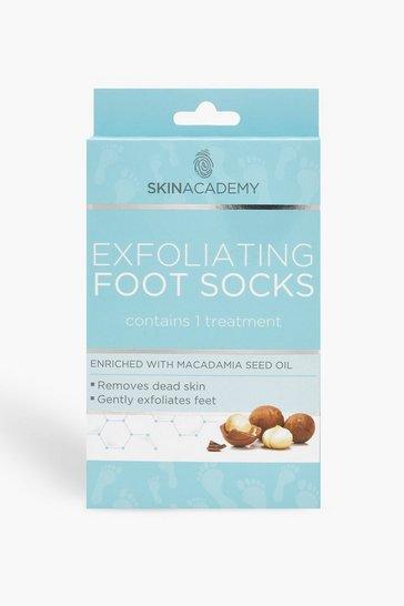 Blue Exfoliating Foot Socks