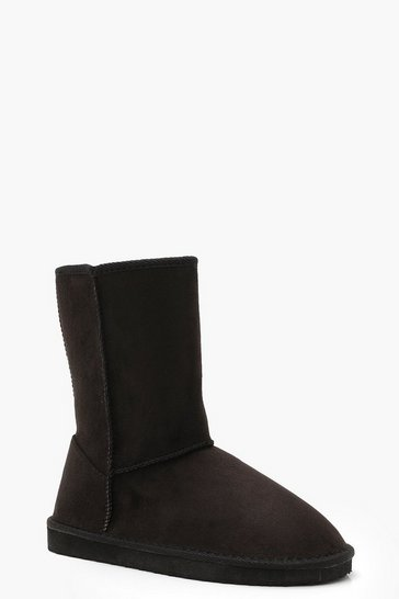 Black Cosy Shoe Boots