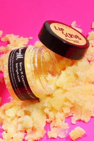 Yellow Barry M Lip Scrub - Mango