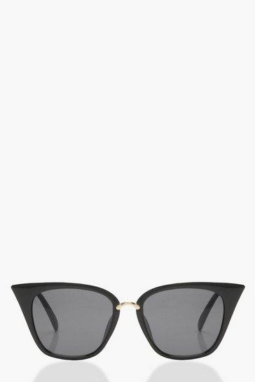 Black Square Cat Eye Sunglasses
