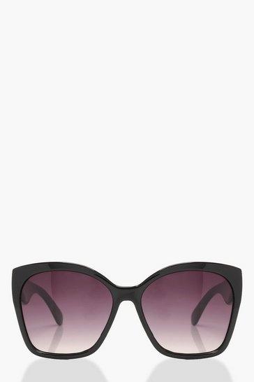 Black Oversized Tinted Sunglasses